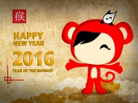 Gatofante Monkey Year!